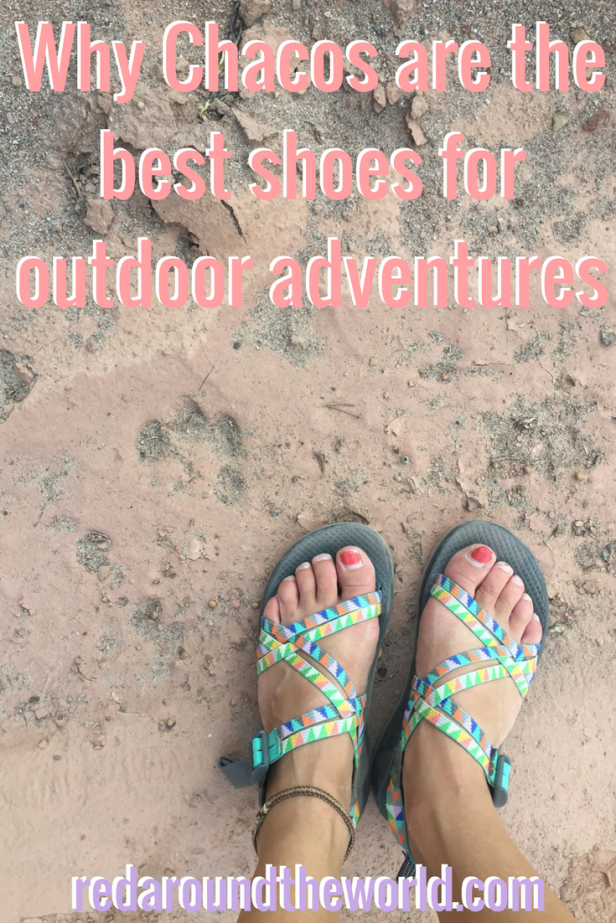 Why Chacos are the best adventure shoes